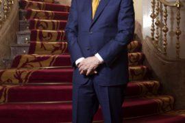 Elegante. Richard H. Driehaus, 72 años, en el hotel Gran Meliá Fénix de Madrid.