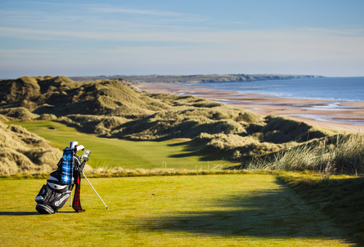 En plena naturaleza. El campo de golf Trump International tiene 242 hectáreas y vistas a las costas de Aberdeenshire.