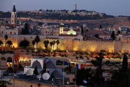 Imagen de Jerusalén, capital de Israel con 850.000 habitantes, es una ciudad hermética y espiritual.