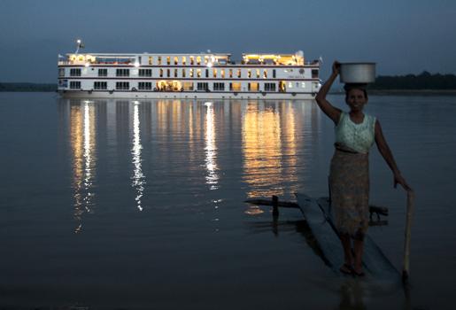 Crucero por el corazón de Myanmar