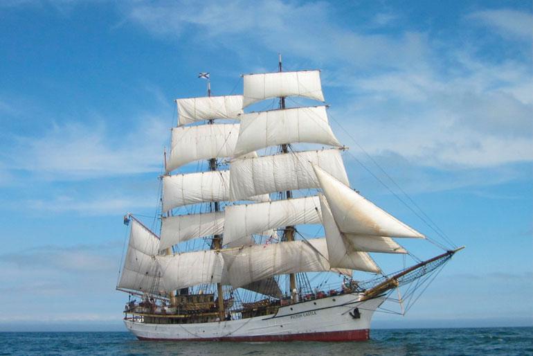 Sea Cloud, un crucero de leyenda